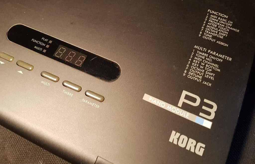 Korg P3