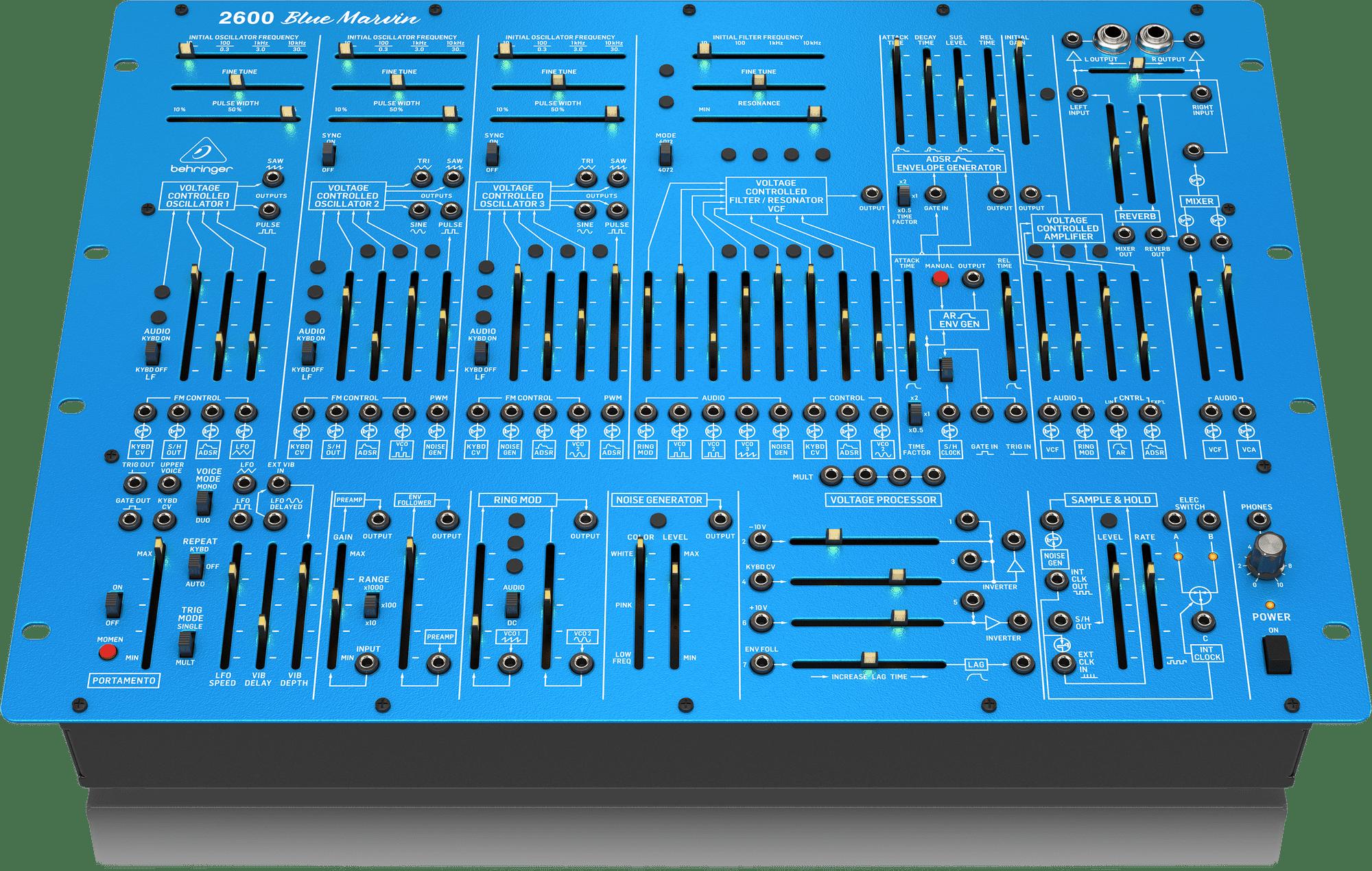Behringer 2600 Blue Marvin
