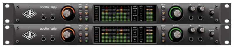 Universal Audio Apollo x8p (2x)