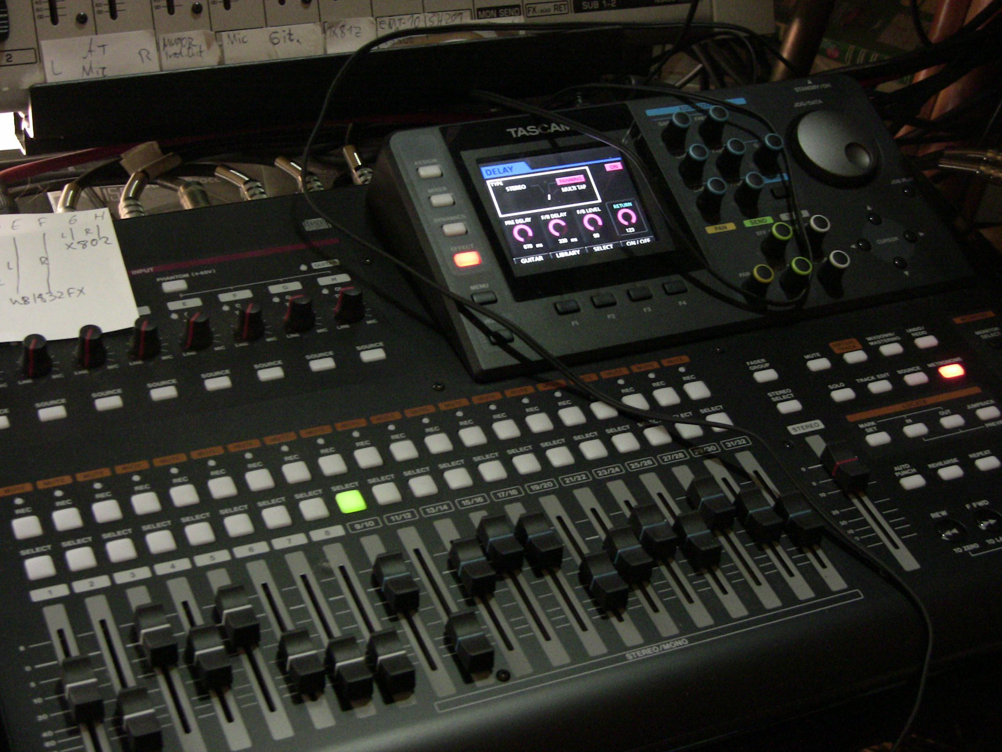Tascam DP-32 Multitrack Recorder