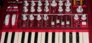 Arturia MicroBrute RED Analogue Synth
