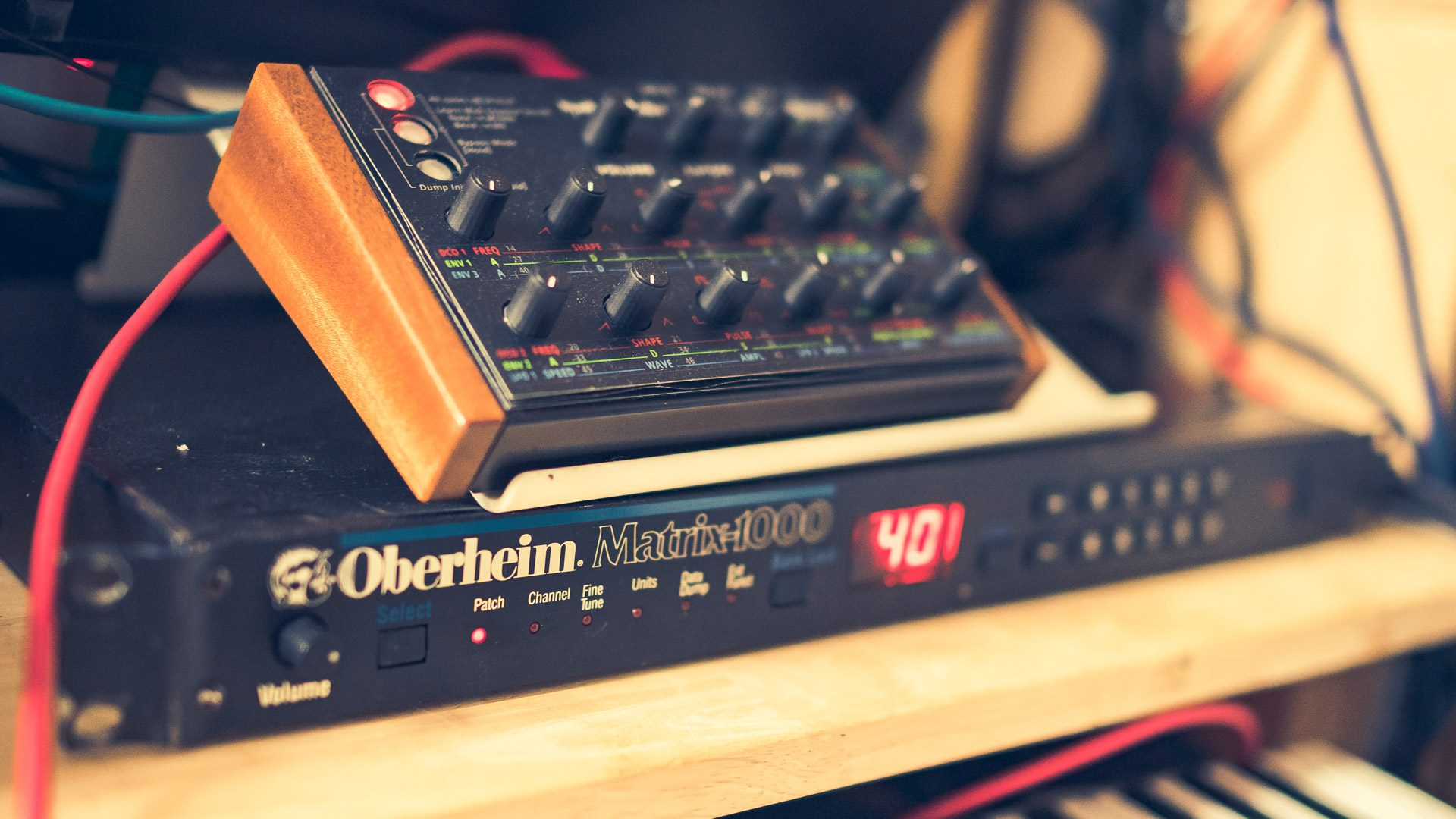 Oberheim Matrix 1000 (1987)