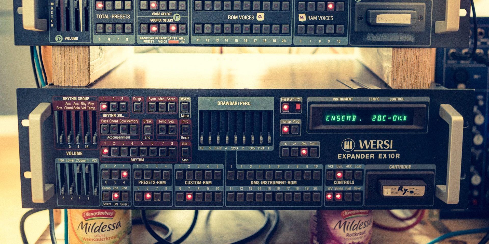 Wersi EX10 R Synthesizer Expander (1987)