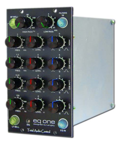 2x Total Audio Control EQ One